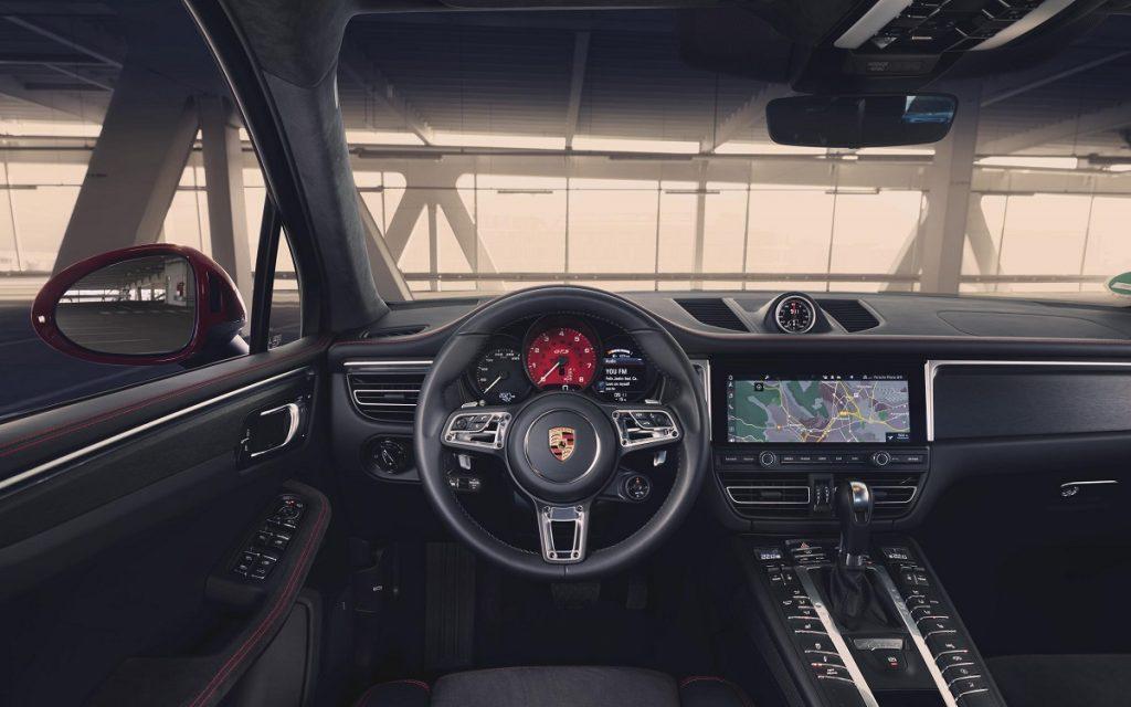 Interior del Porsche Macan GTS