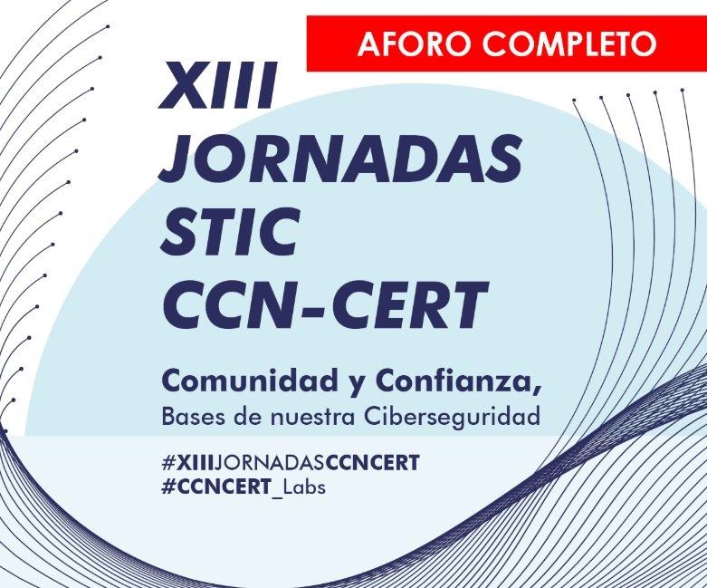 Cartel XIII Jornadas STIC CCN-CERT