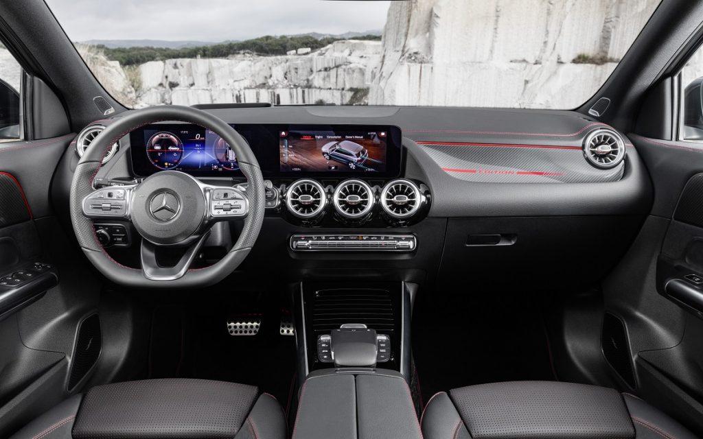 Imagen interior del nuevo Mercedes GLA 2020