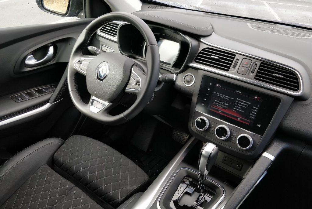 Imagen del interior del Renault Kadjar