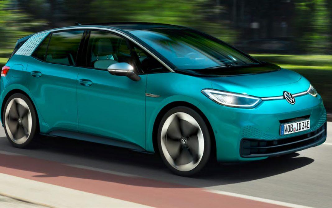 Volkswagen ID.3 tres cuartos frontal