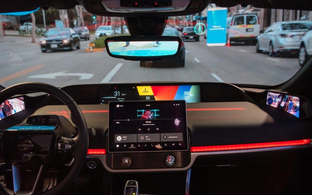 Imagen de la tecnología V2P de Harman