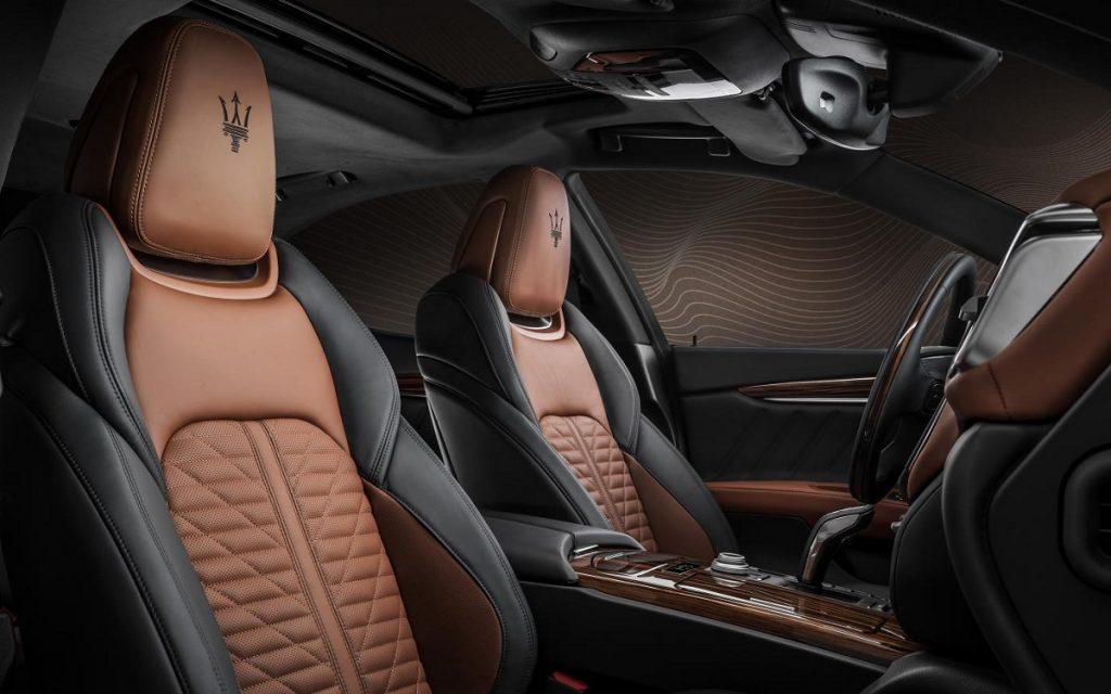 Interior del Maserati Quattroporte Royale