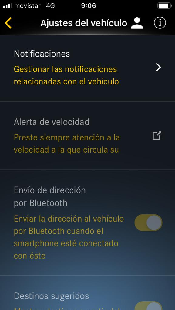 Captura 3 de la Mercedes Me App