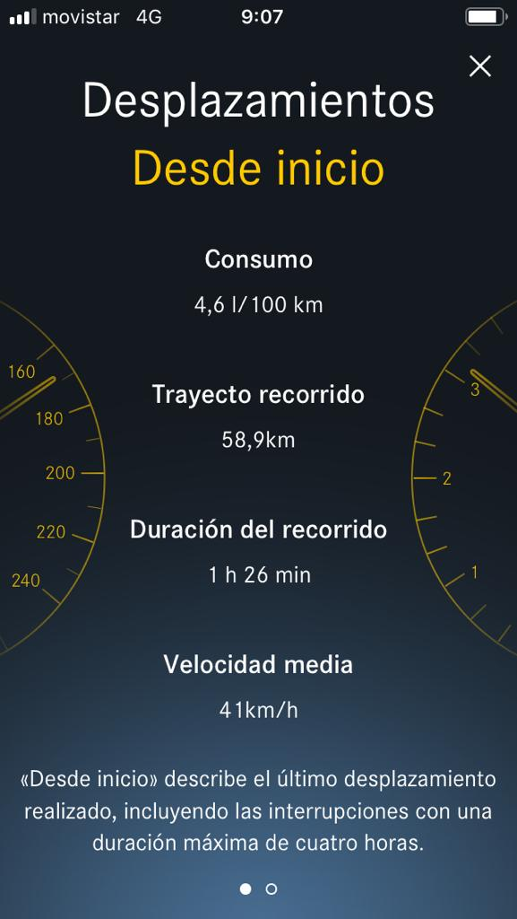 Captura 5 de la Mercedes Me App