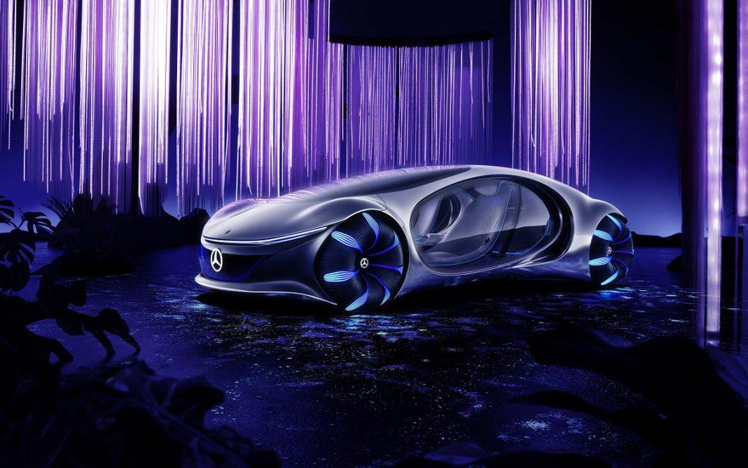 Imagen frontal del Mercedes Vision AVTR