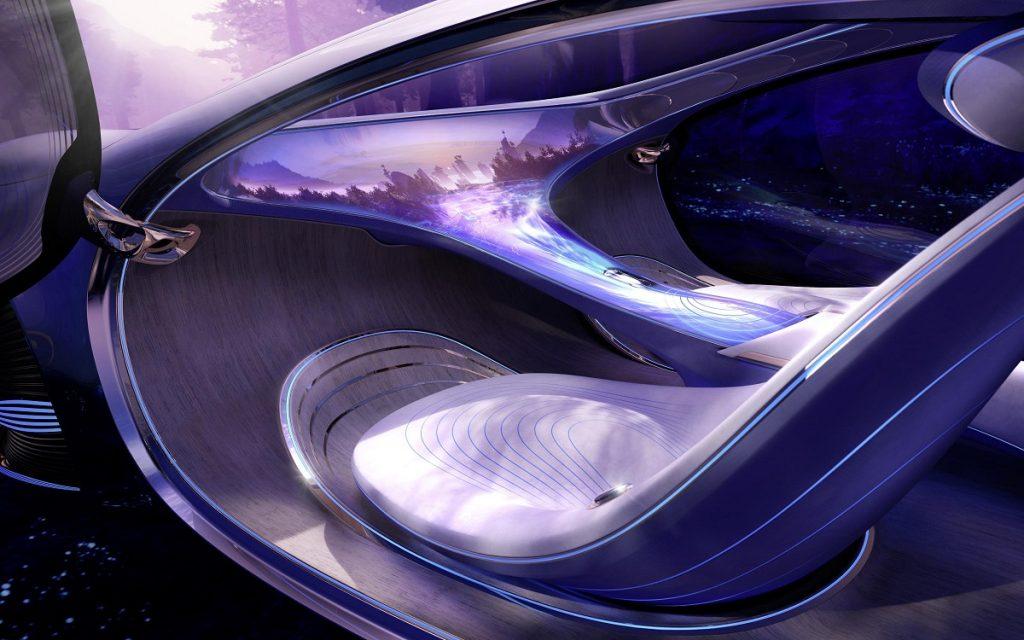 Interior del Mercedes Vision AVTR