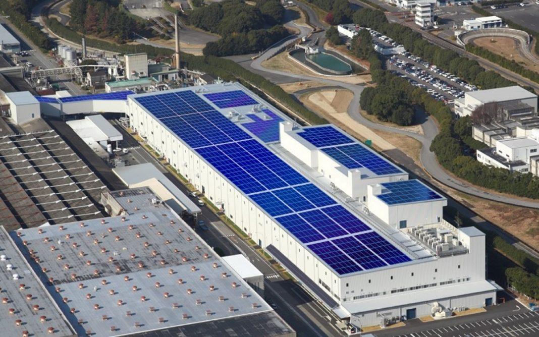 Imagen aérea de la fábrica de Mitsubishi en Okazaki