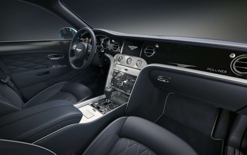 Imagen interior de un Bentley Mulsanne
