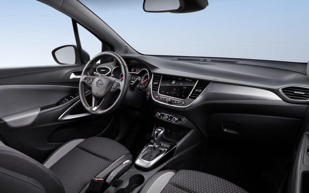 Imagen interior del Opel Crossland-X