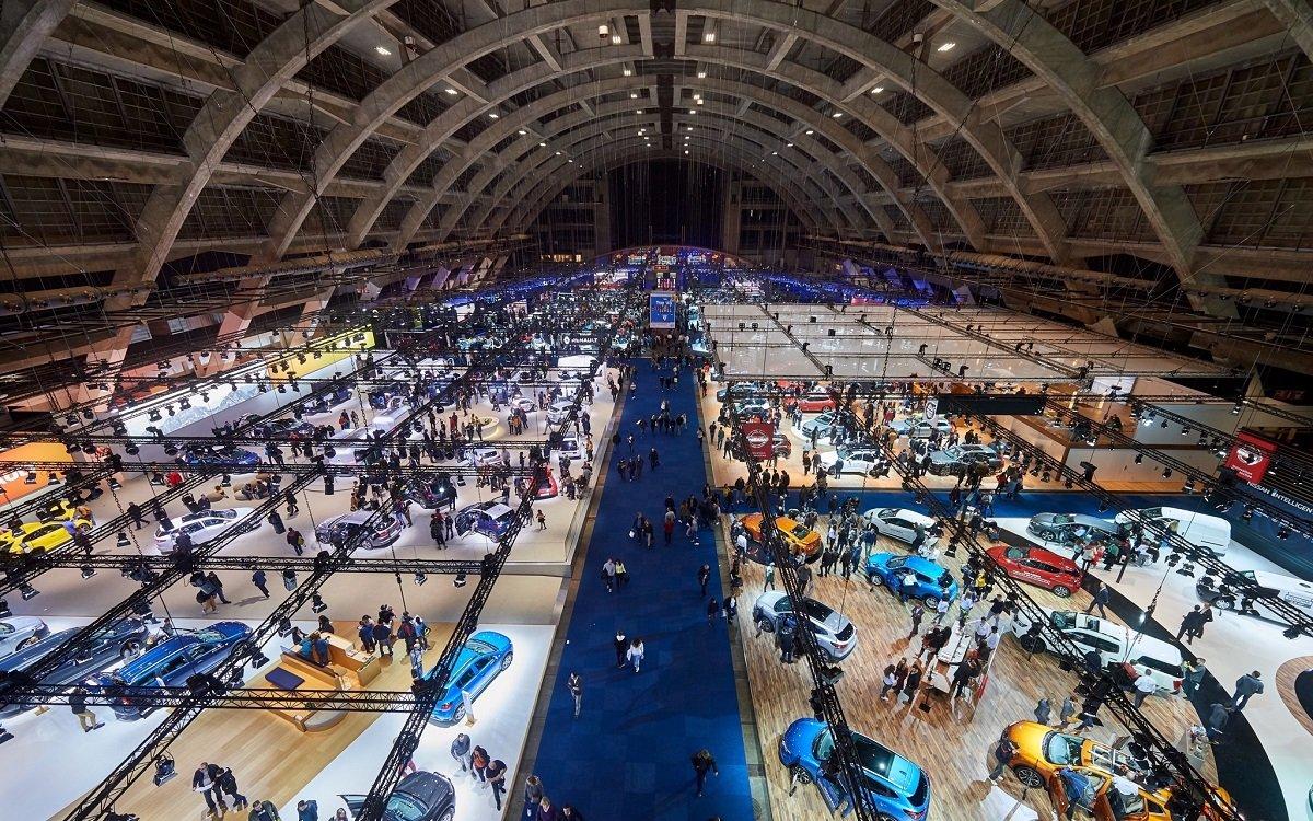 Imagen del Salón del Automóvil de Bruselas