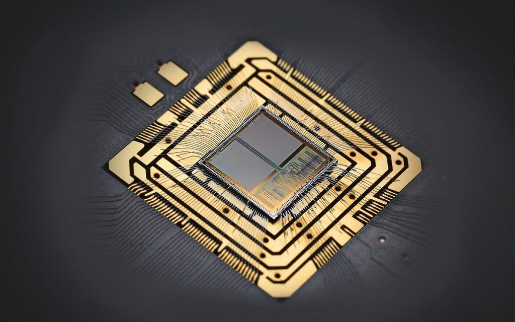 Imagen de un Chip utilizado por Porsche
