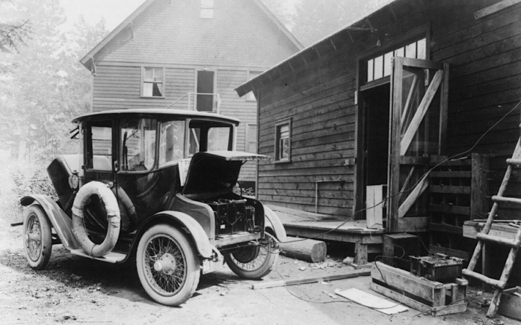 Imagen de un Detroit Electric