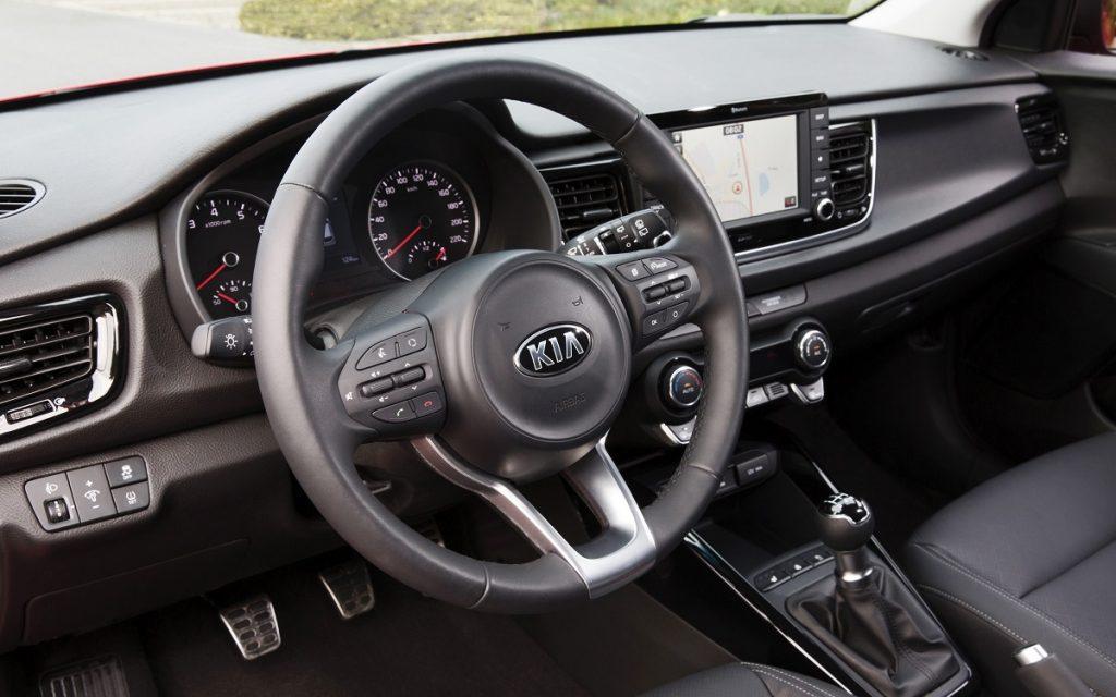 Imagen interior de un Kia Rio