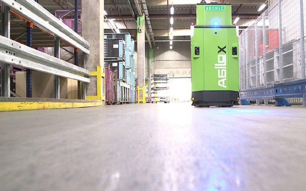 Otra imagen del Robot Agilox