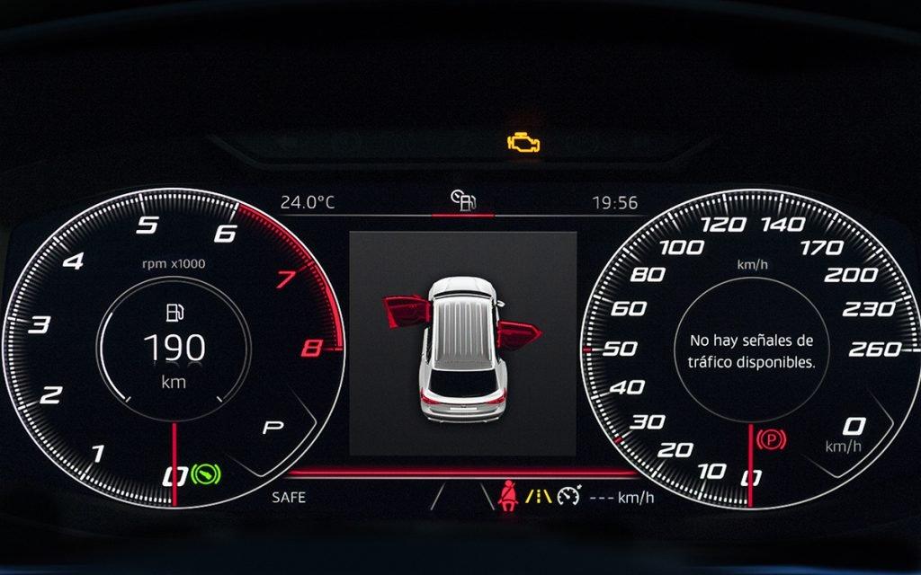 Digital Cockpit del Seat Tarraco