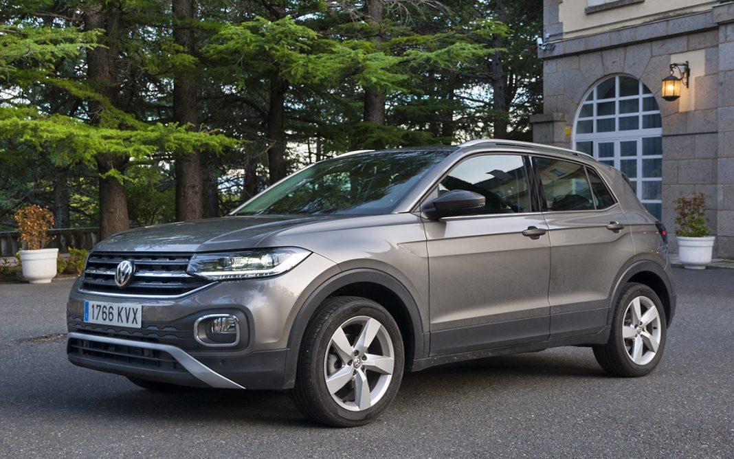 Imagen frontal del VW T-Cross