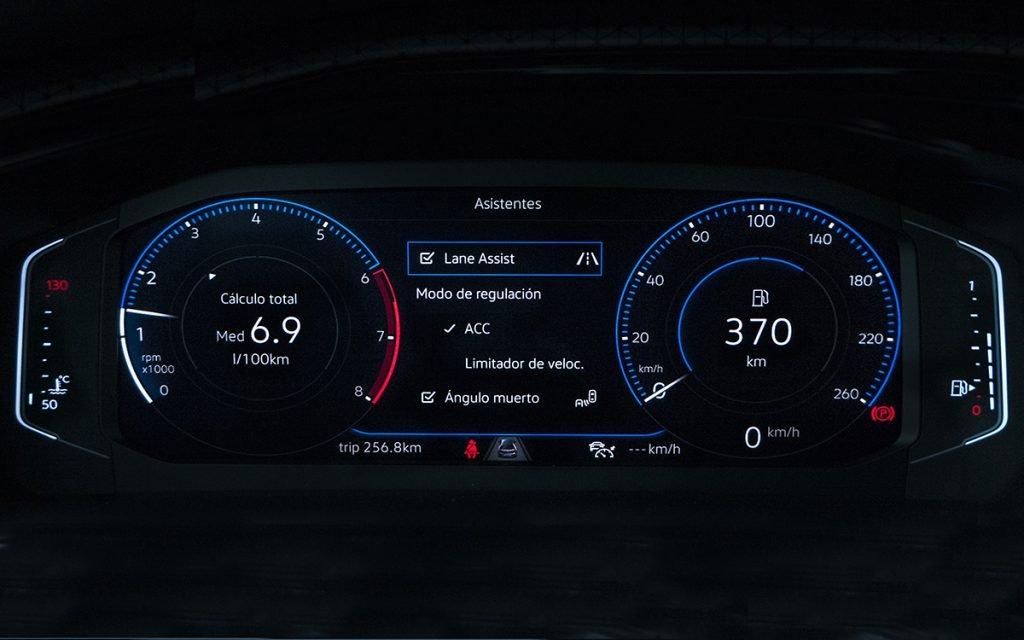 Virtual Cockpit del VW T-Cross
