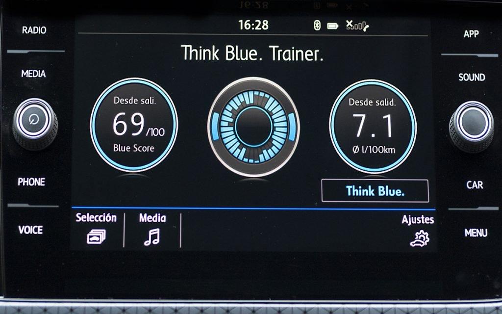 App Think Blue Trainer del VW T-Cross