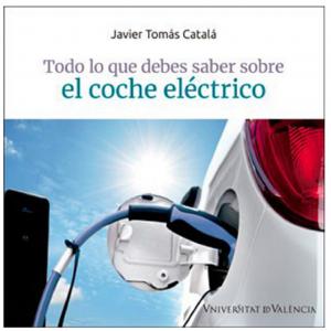"""Poratada del libro """"todo lo que debes saber del coche eléctrico"""""""