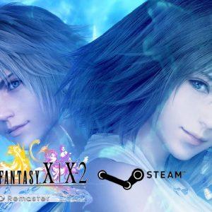 Imagen carátula videojuego Final Fantasy con sus protagonistas
