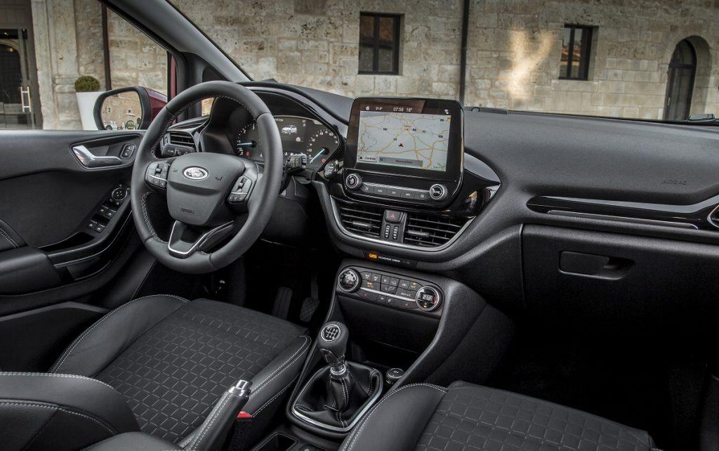 Imagen interior de un Ford Fiesta