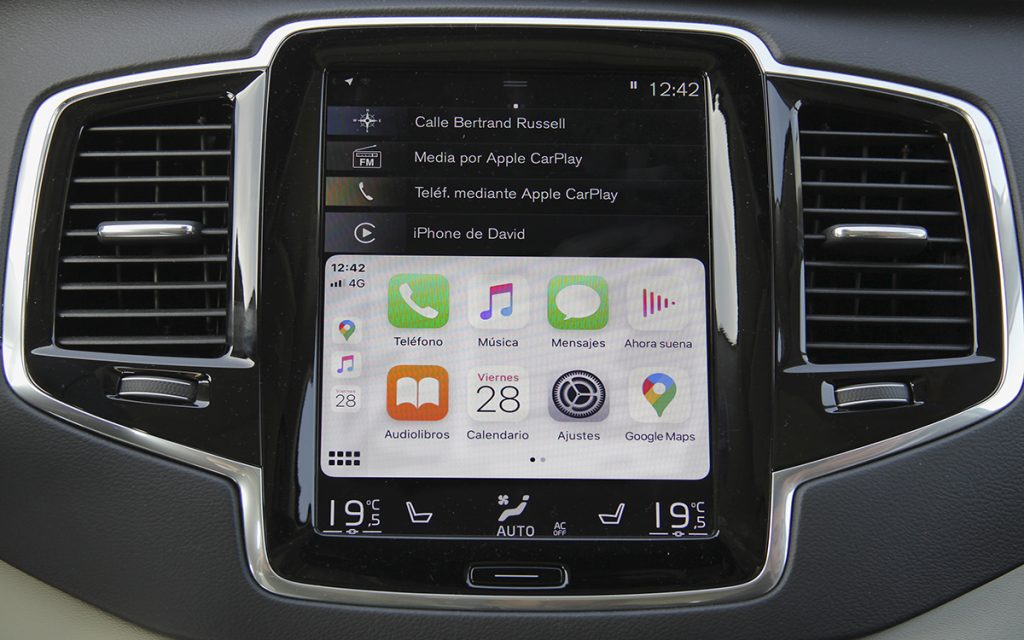 Interfaz de Apple CarPlay