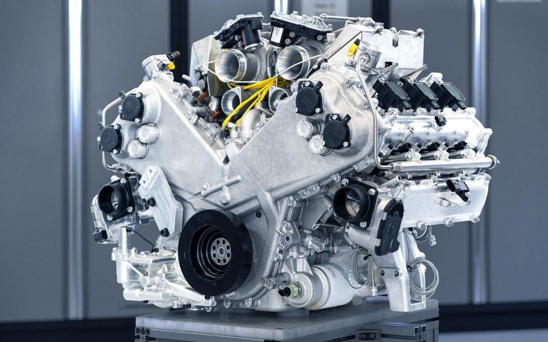Imagen del nuevo Aston Martin V6