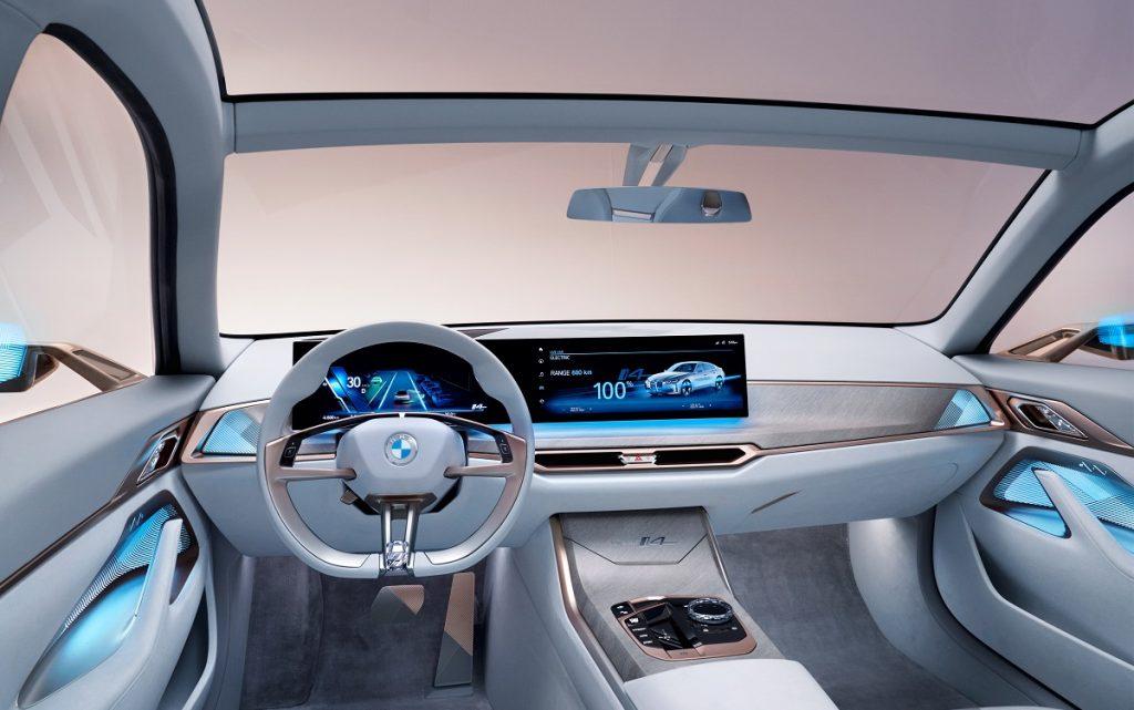 IMagen interior  del BMW i4
