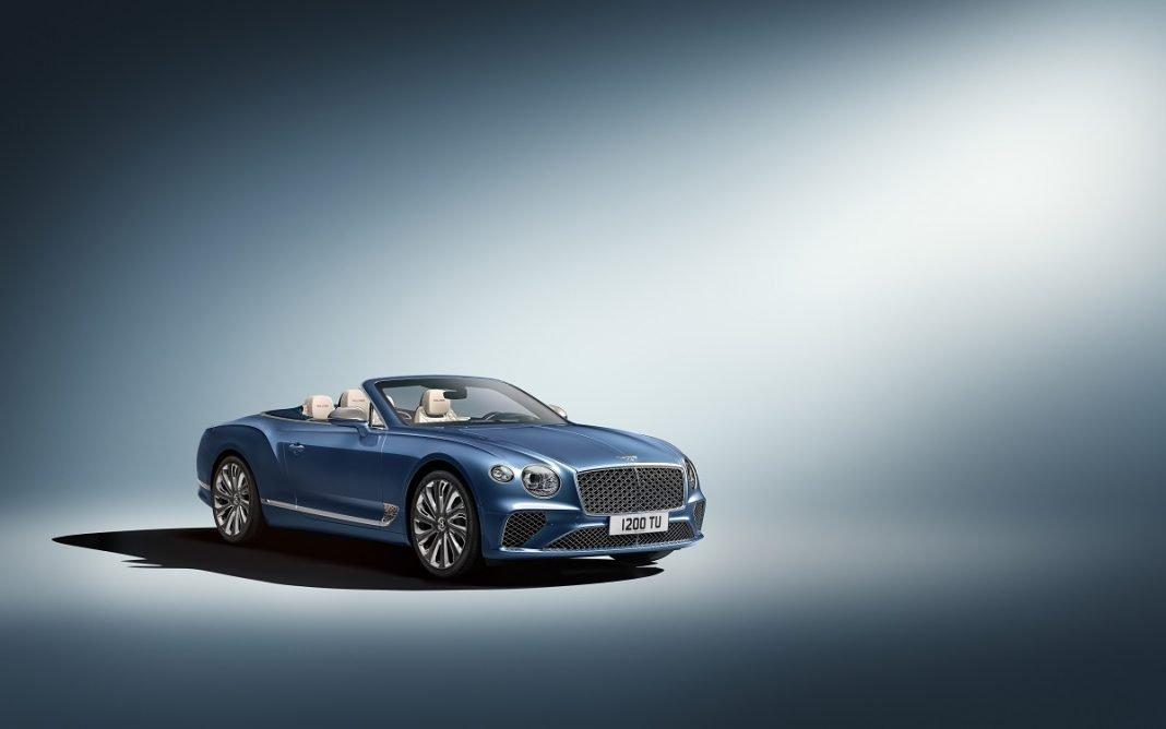 Imagen tres cuartos frontal del Bentley Continental GT Mulliner Convertible