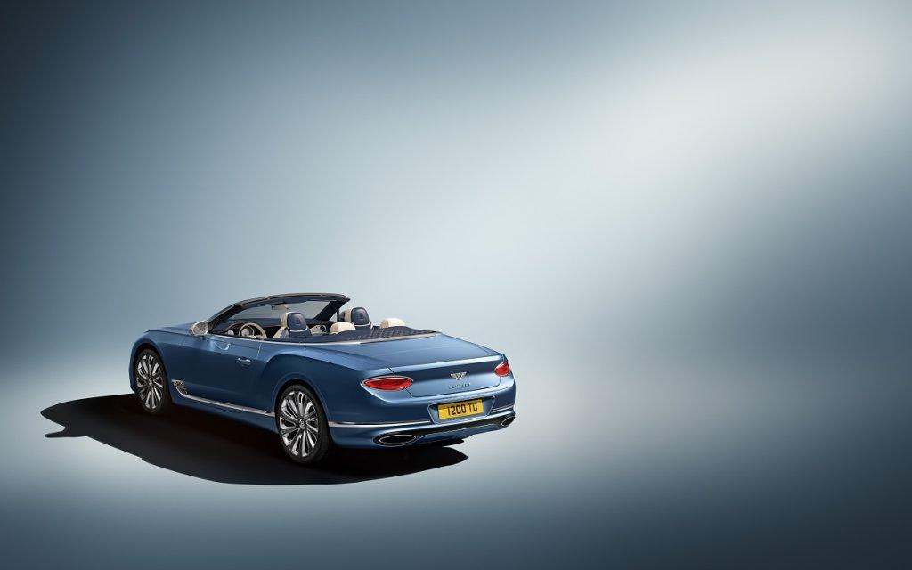 Imagen posterior del Bentley Continental GT Mulliner Convertible