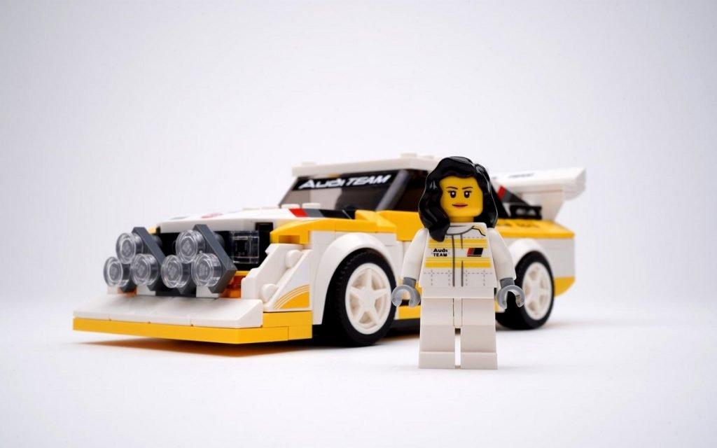 Otra imagen del set LEGO Michèle Mouton