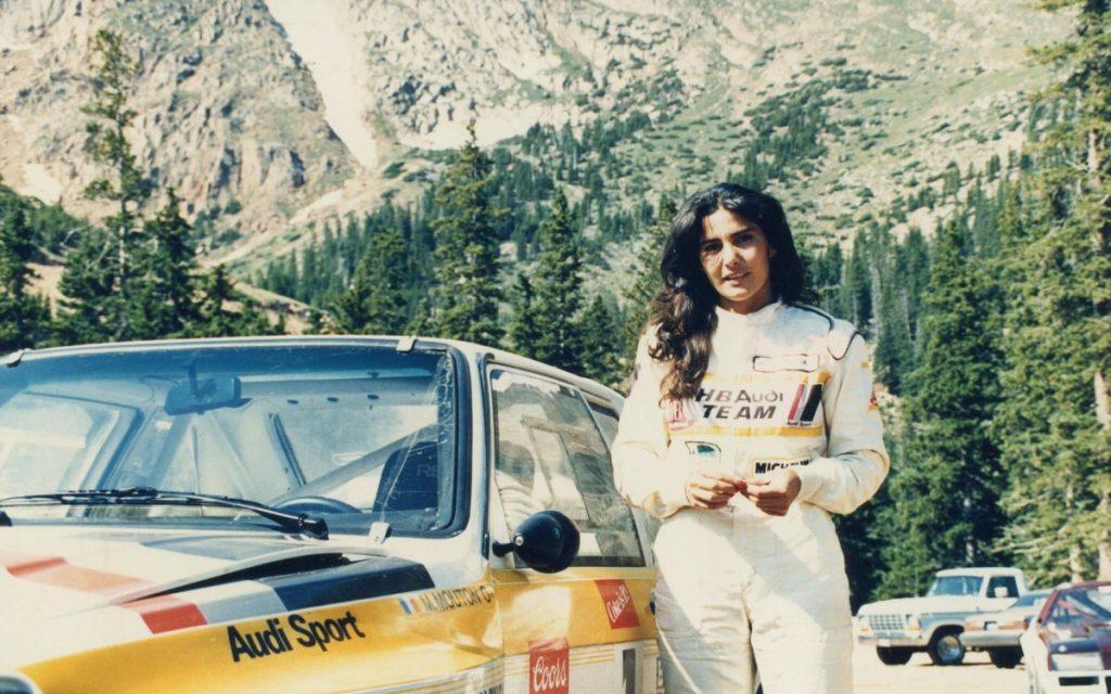 Imagen de Michèle Mouton en la temporada 1985