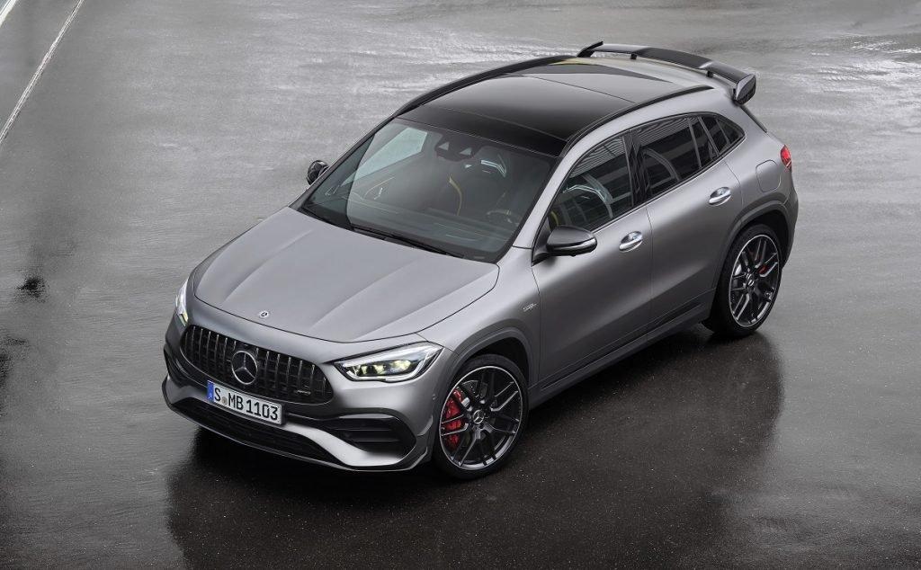 Imagen del nuevo Mercedes A45