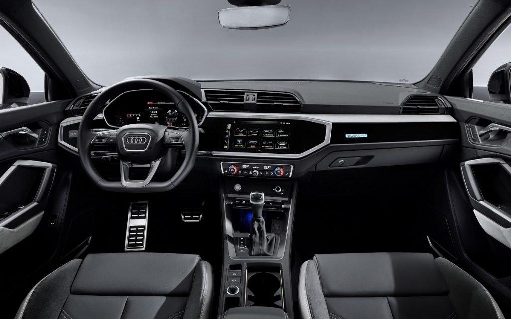 Imagen interior del Audi Q3 Sportback