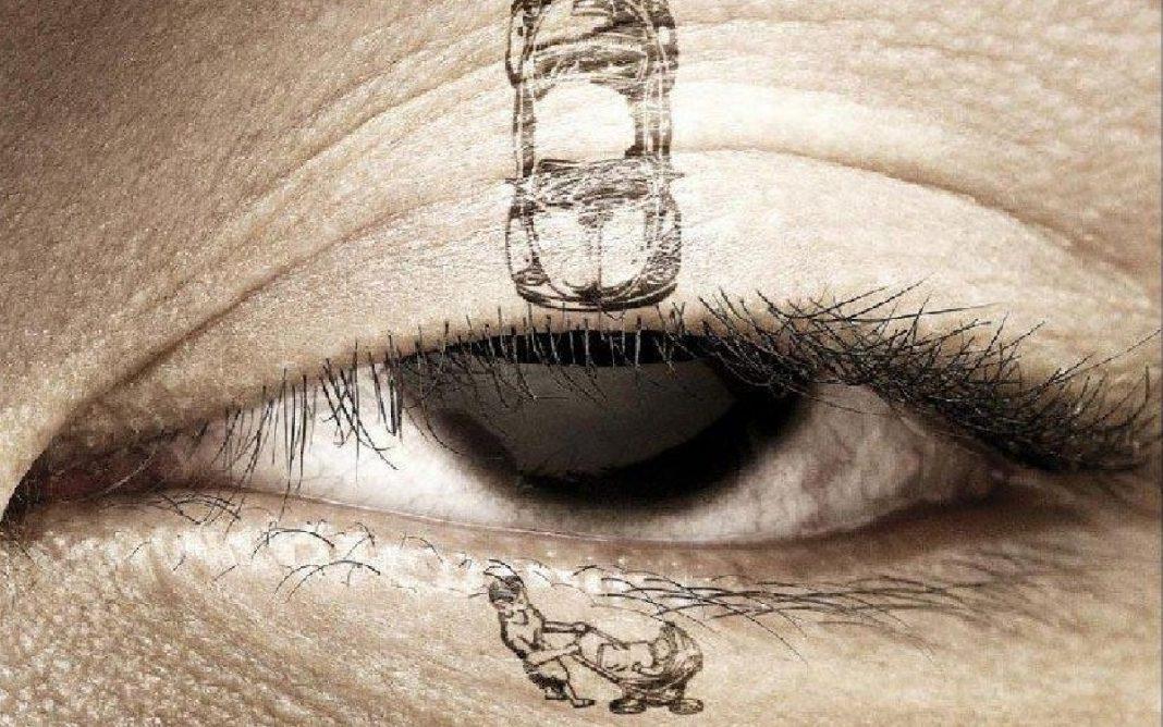 Alegoría del peligro del sueño al volante