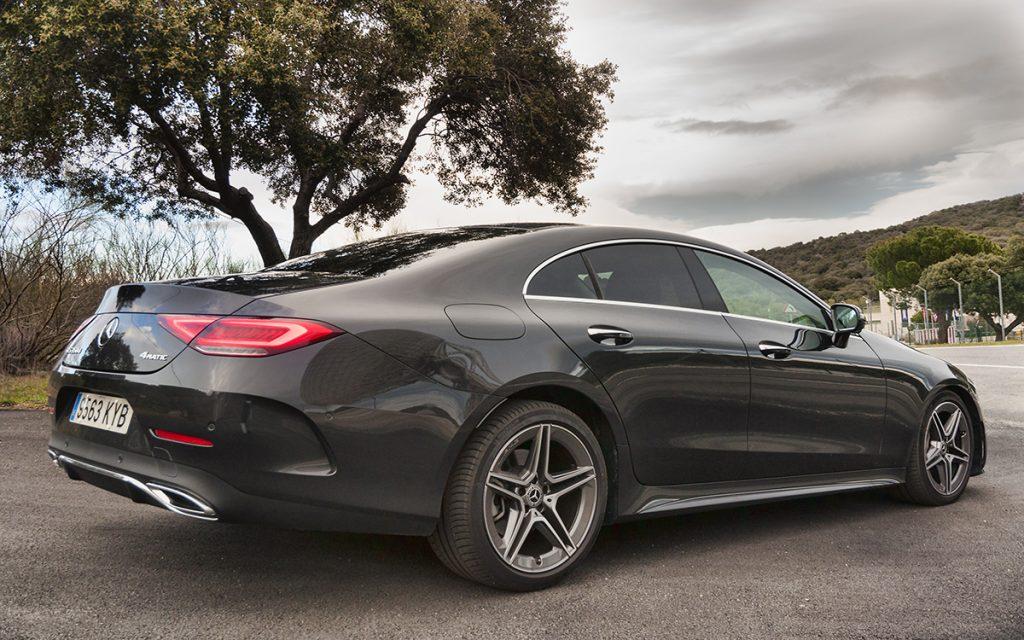 Imagen posterior del Mercedes-Benz CLS
