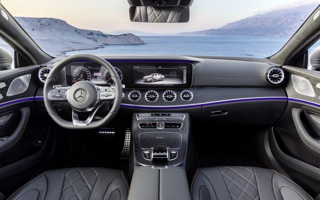 Interior del Mercedes-Benz CLS
