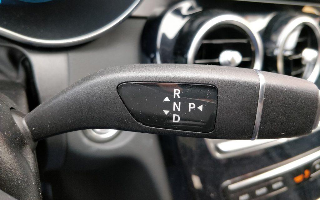 Mandos interiores del Mercedes Clase C