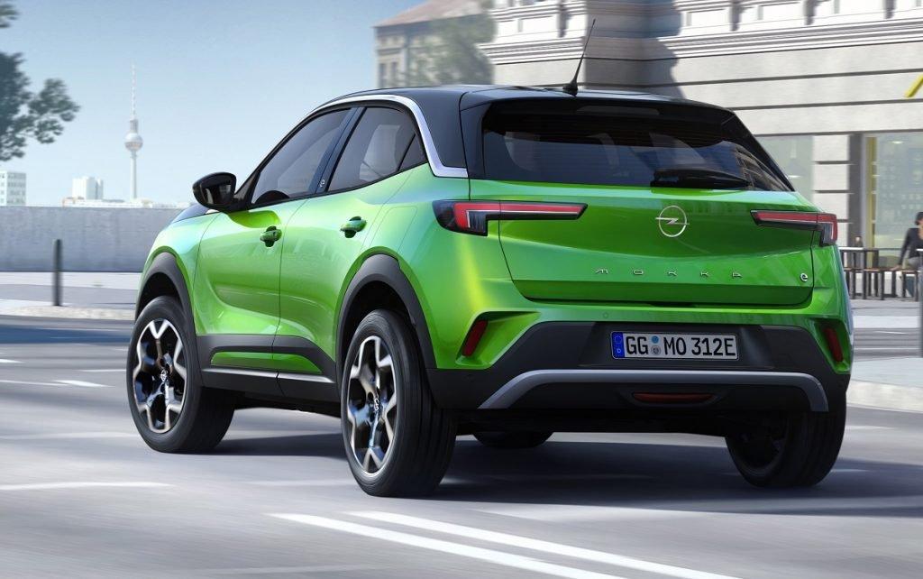 Imagen tres cuartos trasero Opel Mokka