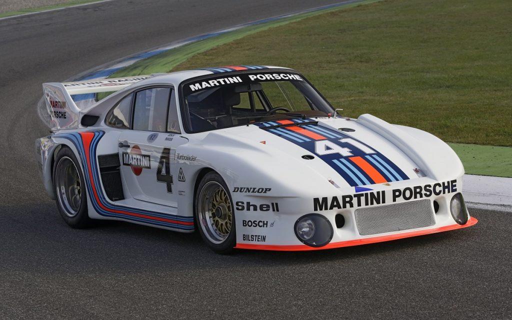 Imagen de un Porsche 935
