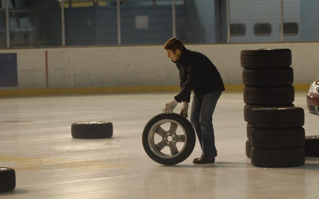 Pruebas de neumáticos de Goodyear