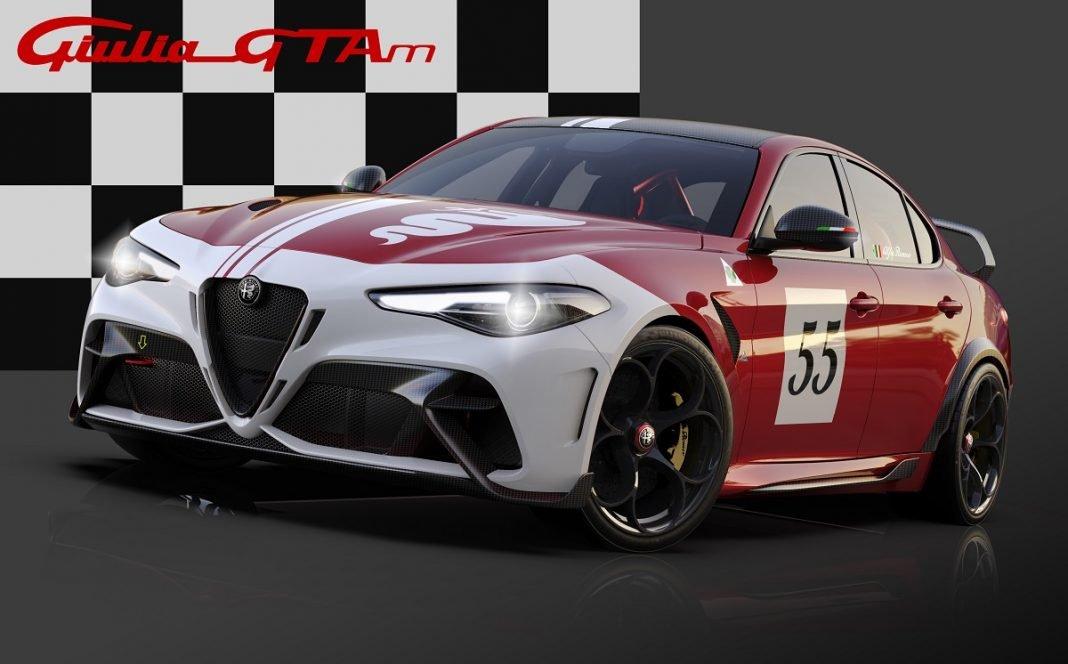 Imagen de un Alfa GTA decorado
