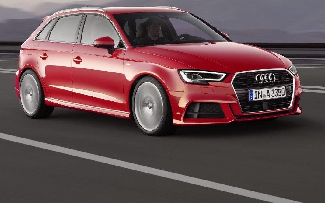Imagen tres cuartos delantero del Audi A3 Sportback