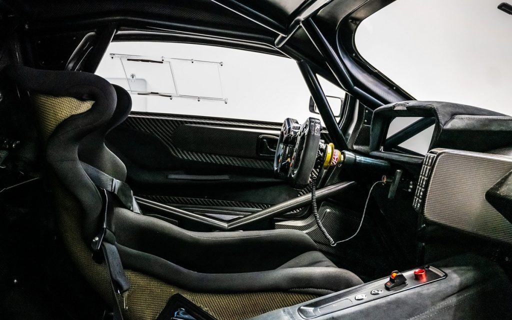 Interior del Brabham BT 62 Competition