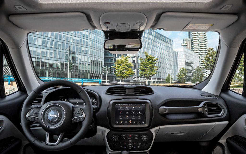 Interior del Jeep Renegade 2020