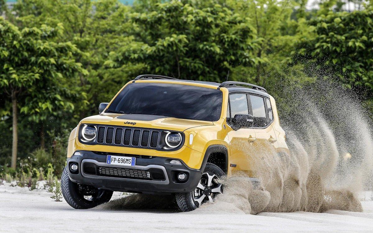 Imagen de un Jeep Renegade Trailhawk