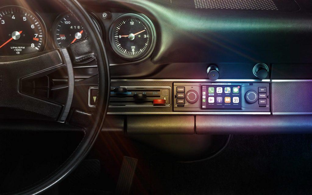 Imagen del Porsche Classic Communication Management, versión 1-DIN