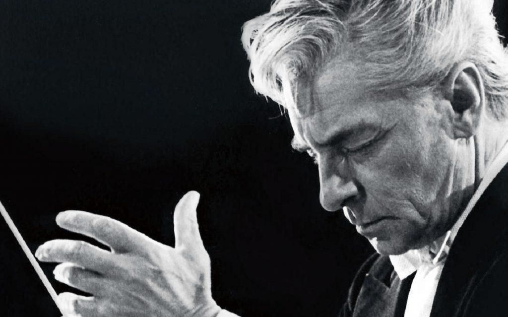El director Herbert von Karajan
