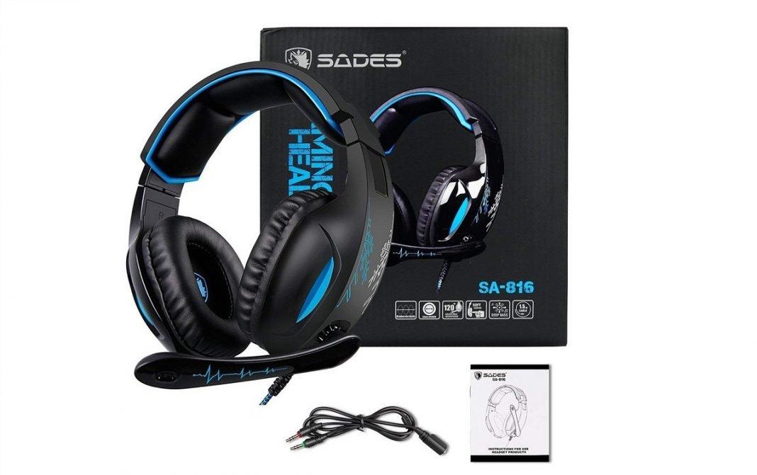IMagen de los auriculares inalámbricos de la marca Sades